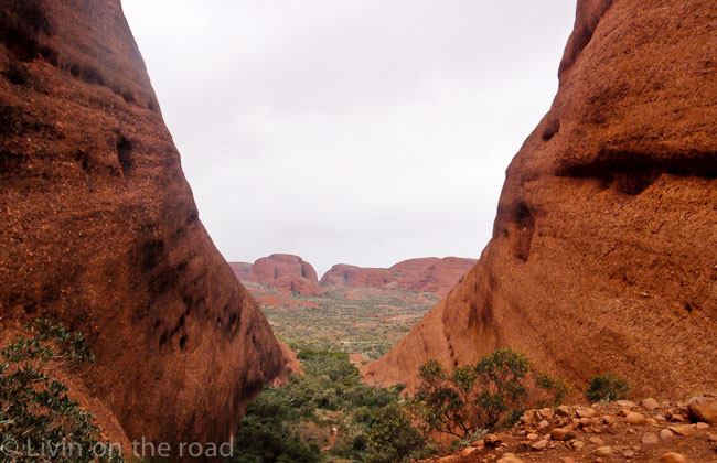 Travel blog Central Australia