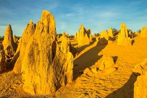 Sunset at the Pinnacles